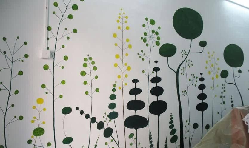 谁有好一点的手绘墙图片素材,关于荷花的,越多越好!谢谢