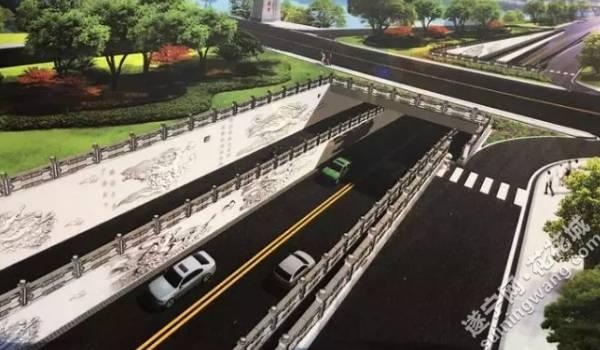 遂宁通善大桥西桥头将修一条下穿隧道 快来了解下穿隧道功能