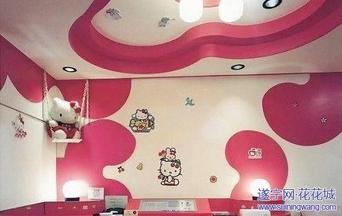 几款很适合儿童房的手绘墙素材