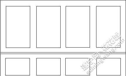 实木线条的美式沙发背景墙设计,哪个方案更适合更好看