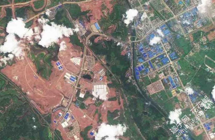 【资讯】百度卫星地图更新遂宁到2011年了,上