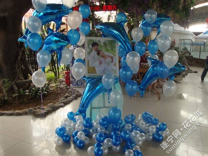 海洋主题婚礼,宝宝宴,生日派对,您想拥有吗?小丑表演