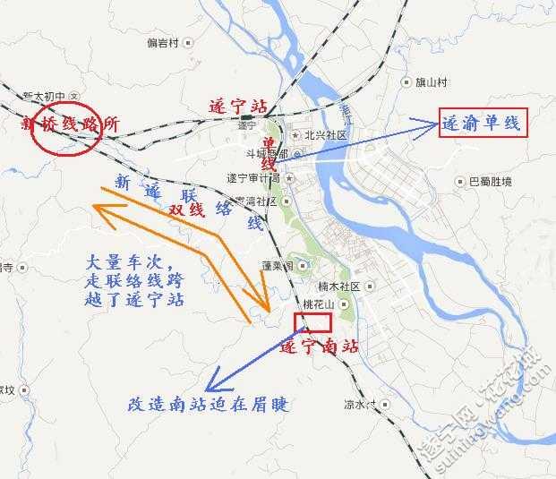 遂宁到2030年的规划(铁路)