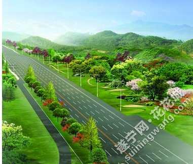 长运公司大门绿化设计图