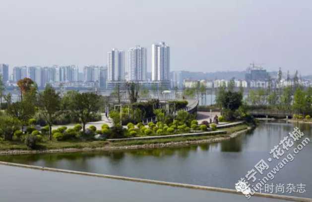 遂宁市河东新区二期滨水景观带巴蜀乐园效果图