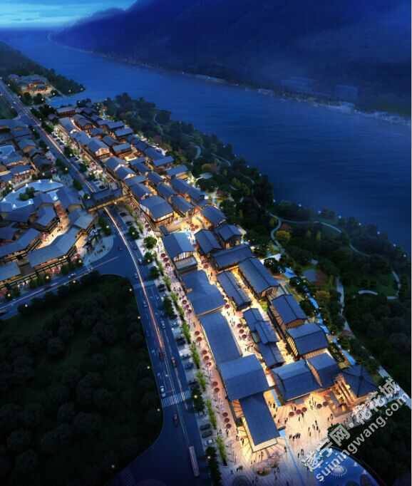 金科美湖弯鸟瞰图夜景.jpg