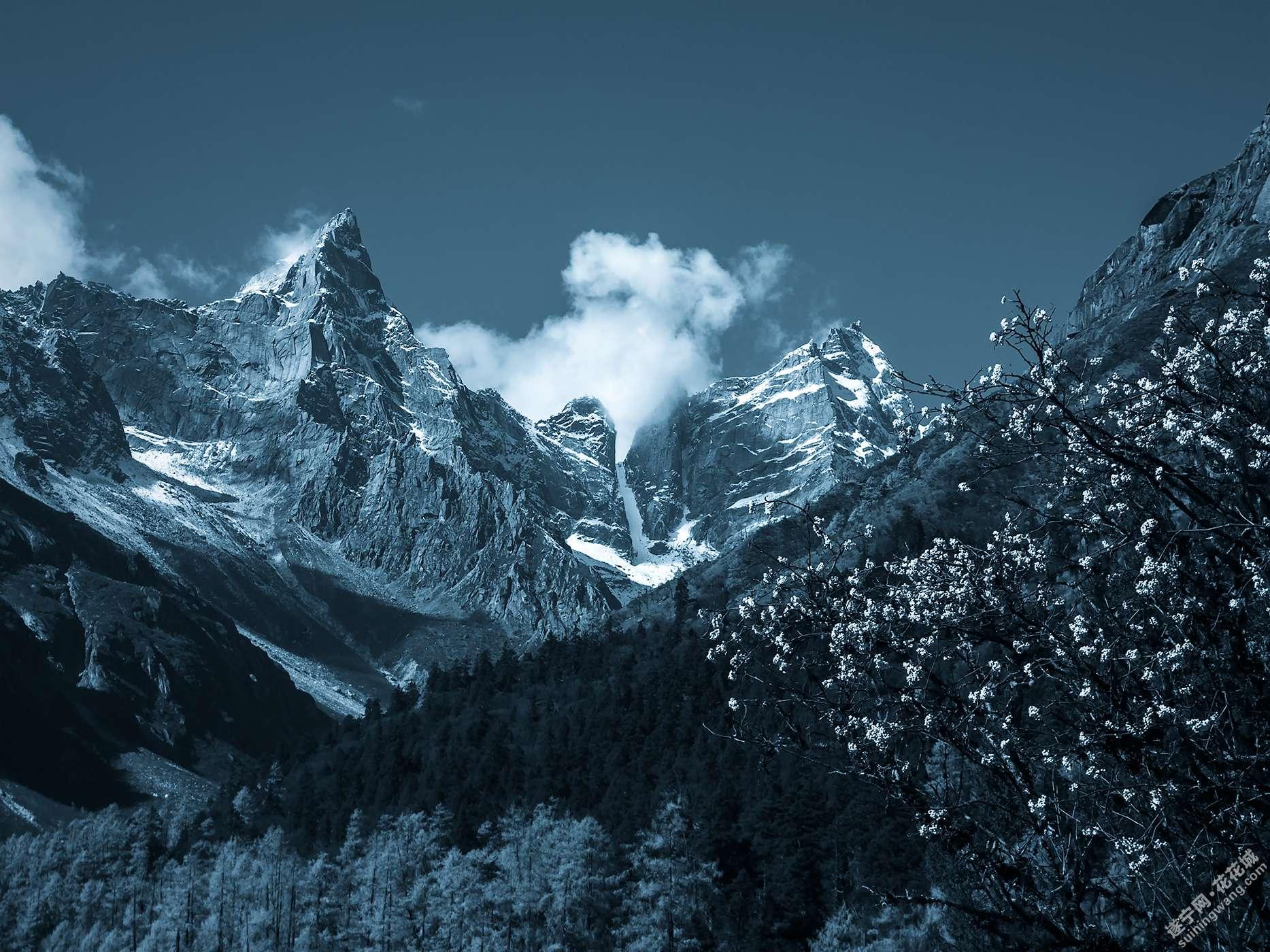 远方与诗·雪山