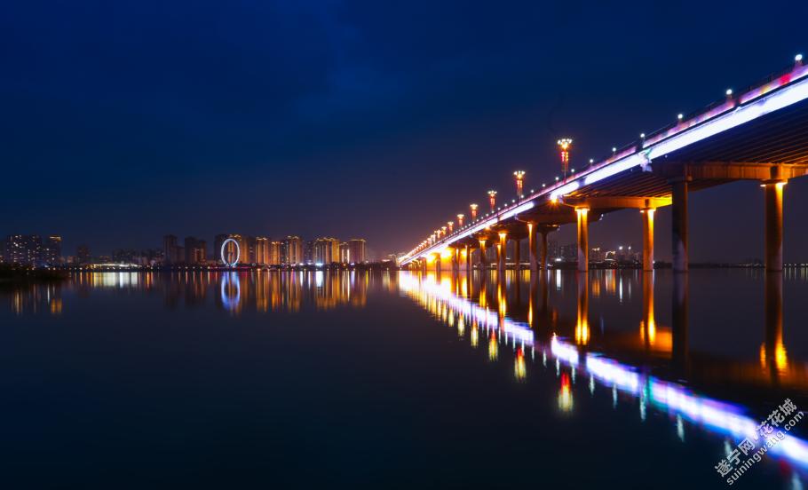 打卡城市夜景,欣赏遂宁不一样的美丽。