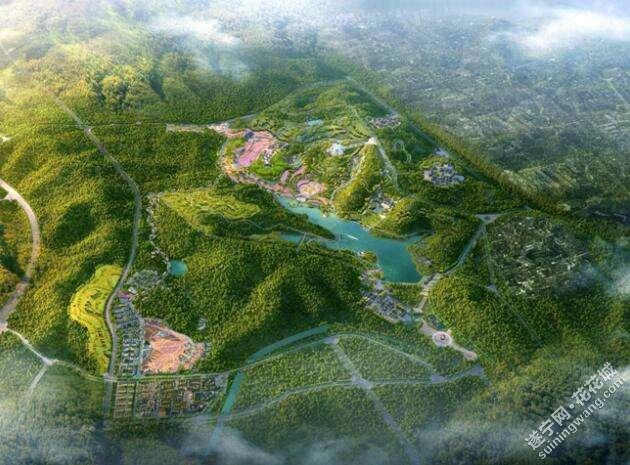 禅香小镇项目位于遂宁经济技术开发区内,紧临广德-灵泉风景区,环抱卧龙山和卧龙湖等.jpg