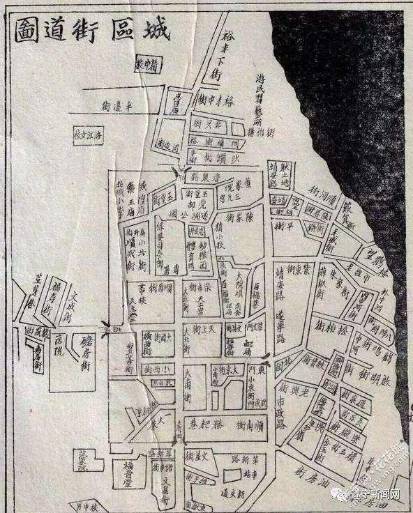 建国初遂宁的城区街道图.jpg